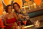 Couple in Nightclub    Stock Photo - Premium Rights-Managed, Artist: George Contorakes, Code: 700-00523117