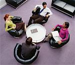 Business People in Meeting    Stock Photo - Premium Rights-Managed, Artist: Masterfile, Code: 700-00523798