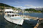 Boats on Queenstown Bay, Queenstown, South Island, New Zealand    Stock Photo - Premium Rights-Managed, Artist: R. Ian Lloyd, Code: 700-00524738