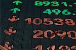 Stock Market Ticker Board    Stock Photo - Premium Rights-Managed, Artist: Mike Randolph, Code: 700-00524821