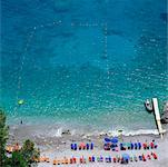 Overview of Beach, Salerno, Amalfi, Italy    Stock Photo - Premium Rights-Managed, Artist: Alberto Biscaro, Code: 700-00525026