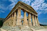 Temple of Segesta, Segesta, Sicily, Italy    Stock Photo - Premium Rights-Managed, Artist: Alberto Biscaro, Code: 700-00526447