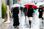 Street Scene, Ginza, Tokyo, Japan    Stock Photo - Premium Rights-Managed, Artist: Jeremy Woodhouse, Code: 700-00527992