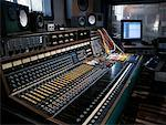 Mixing Board in Recording Studio    Stock Photo - Premium Rights-Managed, Artist: Edward Pond, Code: 700-00529038