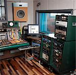 Recording Studio    Stock Photo - Premium Rights-Managed, Artist: Edward Pond, Code: 700-00529040