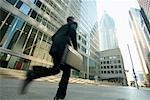 Businessman Rushing to Work    Stock Photo - Premium Rights-Managed, Artist: Peter Griffith, Code: 700-00529311
