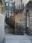 Spiral Staircase at Meherangarh Fort, Jodhpur, Rajisthan, India    Stock Photo - Premium Rights-Managed, Artist: Matt Brasier, Code: 700-00529486
