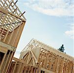 House Under Construction    Stock Photo - Premium Rights-Managed, Artist: David Papazian, Code: 700-00529850