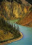 Fourth Canyon, Nahanni River, Nahanni National Park, Northwest Territories, Canada    Stock Photo - Premium Rights-Managed, Artist: Daryl Benson, Code: 700-00530141