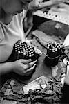 Woman Working in Cigar Factory    Stock Photo - Premium Rights-Managed, Artist: Puzant Apkarian, Code: 700-00543744