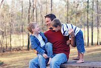 Father with Sons    Stock Photo - Premium Rights-Managednull, Code: 700-00544011