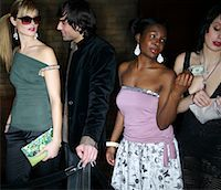 queue club - People Waiting in Line Outside Nightclub    Stock Photo - Premium Rights-Managednull, Code: 700-00544227