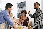 Couples Hanging Out    Stock Photo - Premium Rights-Managed, Artist: Jerzyworks, Code: 700-00544327