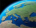Globe Showing Europe    Stock Photo - Premium Rights-Managed, Artist: Bill Frymire, Code: 700-00544434