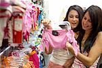 Women Shopping for Bathing Suits    Stock Photo - Premium Rights-Managed, Artist: Tim Mantoani, Code: 700-00546753