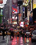 Traffic by Times Square, New York, New York, USA    Stock Photo - Premium Rights-Managed, Artist: Peter Christopher, Code: 700-00547040