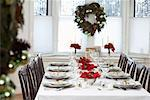 Dinner Table at Christmas    Stock Photo - Premium Rights-Managed, Artist: Jerzyworks, Code: 700-00547315