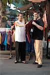 Couple Shopping At Chatuchak Weekend Market, Bangkok, Thailand    Stock Photo - Premium Rights-Managed, Artist: dk & dennie cody, Code: 700-00549336