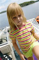 peter griffith - Girl in Boat    Stock Photo - Premium Rights-Managednull, Code: 700-00549705
