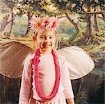 Girl Dressed as Insect    Stock Photo - Premium Rights-Managed, Artist: Tom Feiler, Code: 700-00549892