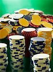 Poker Chips    Stock Photo - Premium Rights-Managed, Artist: Tom Collicott, Code: 700-00550388