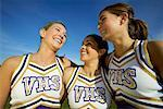 Cheerleaders    Stock Photo - Premium Rights-Managed, Artist: Peter Griffith, Code: 700-00550579