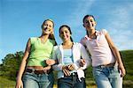 Three Teenage Women Friends