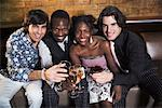 Friends at a Bar    Stock Photo - Premium Rights-Managed, Artist: Masterfile, Code: 700-00551290
