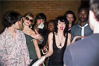 queue club - People Waiting to Get Into Nightclub    Stock Photo - Premium Rights-Managednull, Code: 700-00551324