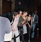 People Waiting in Line at Club    Stock Photo - Premium Rights-Managed, Artist: Masterfile, Code: 700-00551362