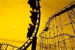 Roller Coaster at Sunset    Stock Photo - Premium Rights-Managed, Artist: Gloria H. Chomica, Code: 700-00552130