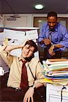 Businessmen in Office    Stock Photo - Premium Rights-Managed, Artist: Michael Goldman, Code: 700-00552183