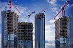 Buildings Under Construction    Stock Photo - Premium Rights-Managed, Artist: Ken Davies, Code: 700-00553861