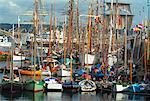 Tall Ships Regatta, Brest, Normandy, France    Stock Photo - Premium Rights-Managed, Artist: Peter Christopher, Code: 700-00553924