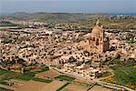 Xewkija Village, Island of Gozo, Malta    Stock Photo - Premium Rights-Managed, Artist: Peter Christopher, Code: 700-00553930