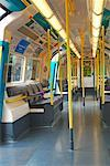 Interior of Underground Train, London, England    Stock Photo - Premium Rights-Managed, Artist: Peter Christopher, Code: 700-00553931