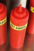 Bottles of Hot Sauce    Stock Photo - Premium Rights-Managednull, Code: 700-00554088
