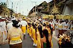 Parade Through Street, Bali, Indonesia