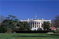 flag at half mast - White House, Washington D.C., USA    Stock Photo - Premium Rights-Managednull, Code: 700-00555006
