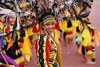 pictures philippine festivals philippines - Woman in Parade with Traditional Costume, Cebu, Philippines    Stock Photo - Premium Rights-Managednull, Code: 700-00555262
