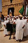Group of People With Bull, Morocco