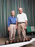 Portrait of Couple in Bowling Alley Stock Photo - Premium Rights-Managed, Artist: Dan Lim, Code: 700-00555975