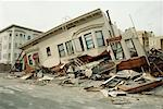 Earthquake Damage, San Francisco, California, USA    Stock Photo - Premium Rights-Managed, Artist: Mark Downey, Code: 700-00556227