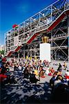 Le Centre Pompidou, Beaubourg, Paris, France