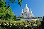 La Basilique du Sacre Coeur, Paris, France    Stock Photo - Premium Rights-Managed, Artist: Ed Gifford, Code: 700-00556484