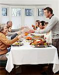 Family Toasting at Christmas    Stock Photo - Premium Rights-Managed, Artist: Jerzyworks, Code: 700-00560549