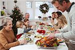 Man Carving Turkey for Christmas Dinner    Stock Photo - Premium Rights-Managed, Artist: Jerzyworks, Code: 700-00560550