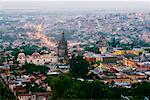 Overview of San Miguel de Allende Guanajuato, Mexico    Stock Photo - Premium Rights-Managed, Artist: Jeremy Woodhouse, Code: 700-00560813