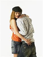 Young Couple Hugging    Stock Photo - Premium Rights-Managednull, Code: 700-00562320