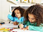 Children Drawing    Stock Photo - Premium Rights-Managed, Artist: Tom Feiler, Code: 700-00588681